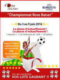 Rose Baiser campagne emailing 2016